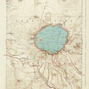 1866 Crater Lake